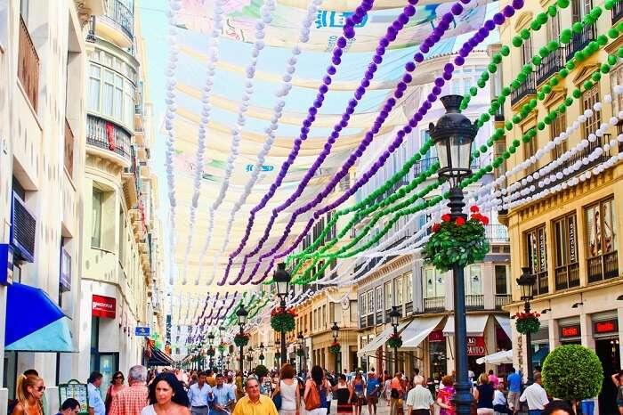 august fair in malaga
