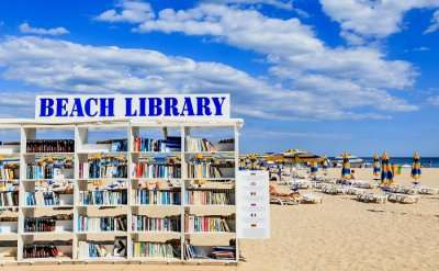 beach library albena bulgaria cover image