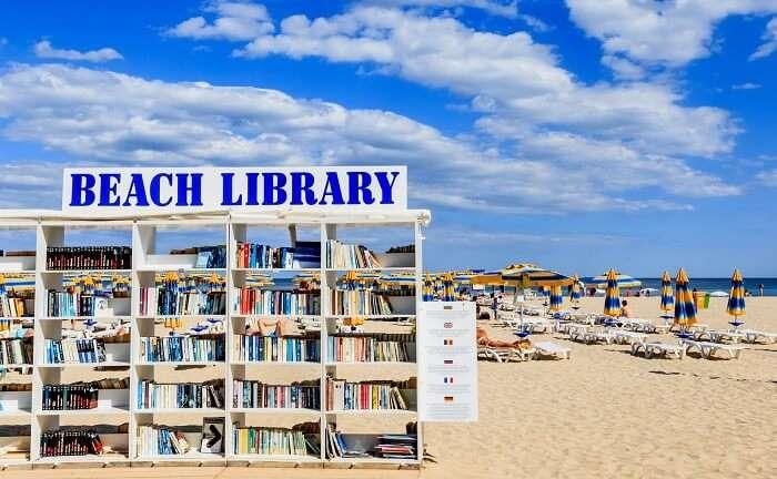 beach library albena bulgaria cover image