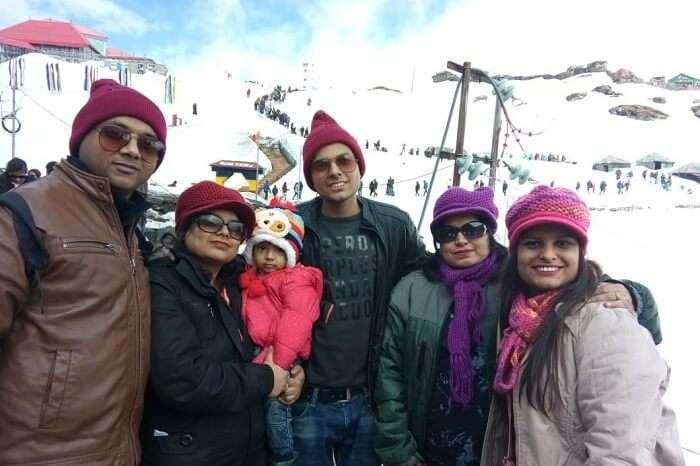 Saurabh family trip to sikkim travelogue