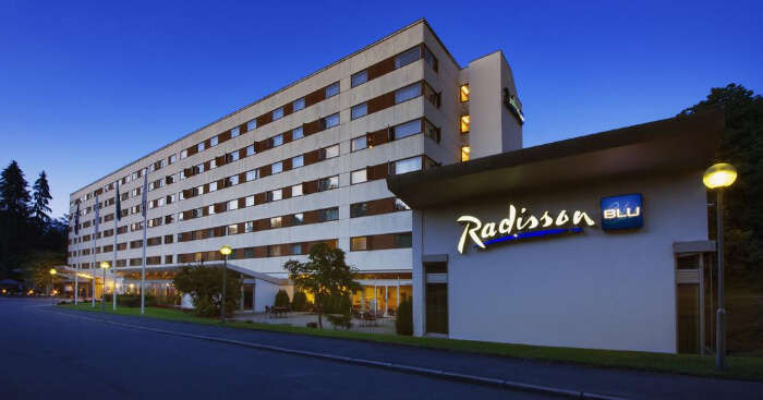 cover image of Radisson blue hotel Oslo