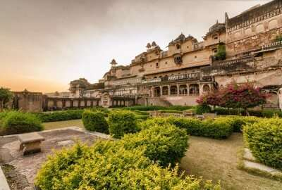 A view of Majestic Garh Palace