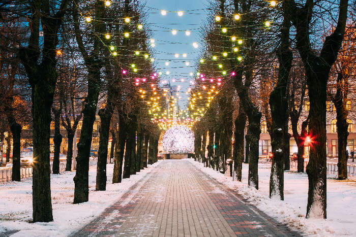 catch glimpses of the beautiful town of Helsinki