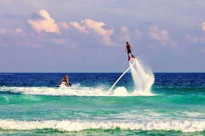 mumbai water sports flyboarding cover image