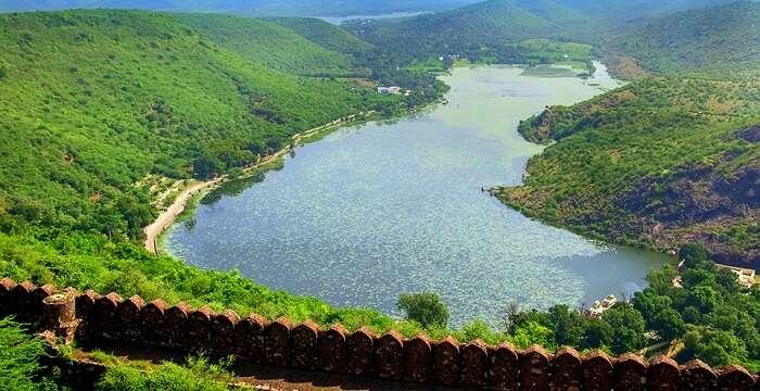 Beautiful Lake in Bundi