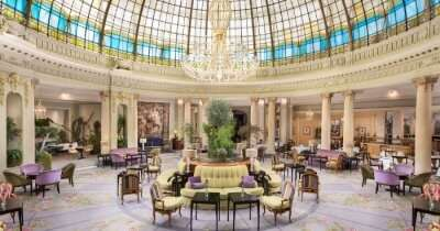 a luxury hotel in Madrid