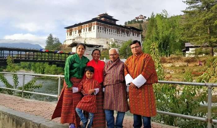 rohit bhutan family trip travelogue cover image