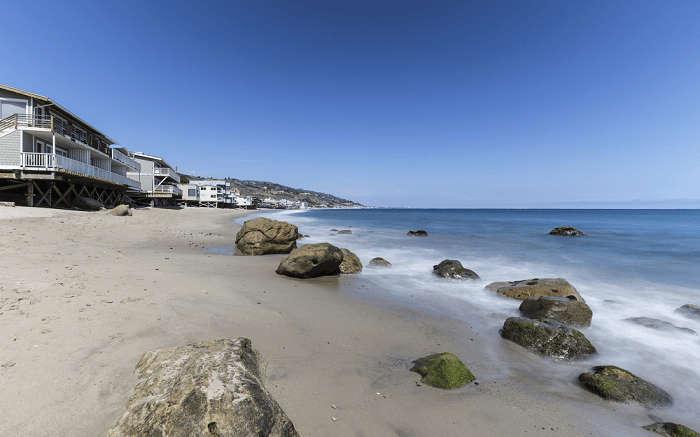the wonderful Carbon Beach
