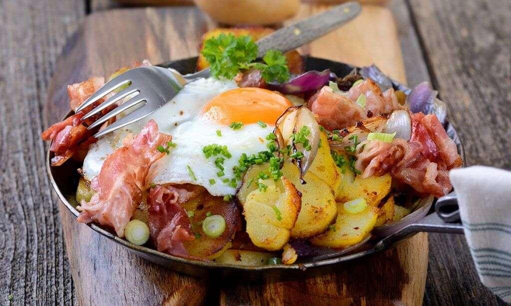 fancying classic Austrian foods