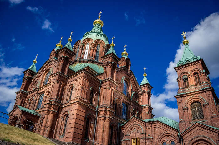 a Russian orthodox church
