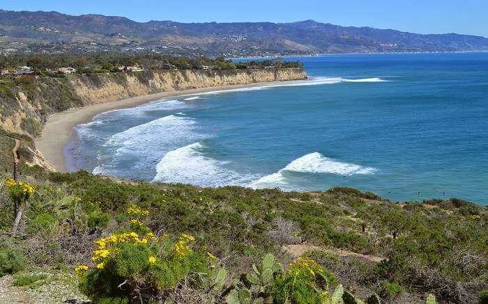 views from the Point Dume State Beach