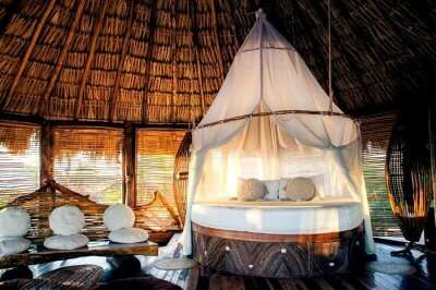 luxury villa in Azulik Eco Resort
