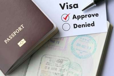 visa approved passport