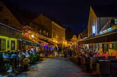 zagreb nightlife street