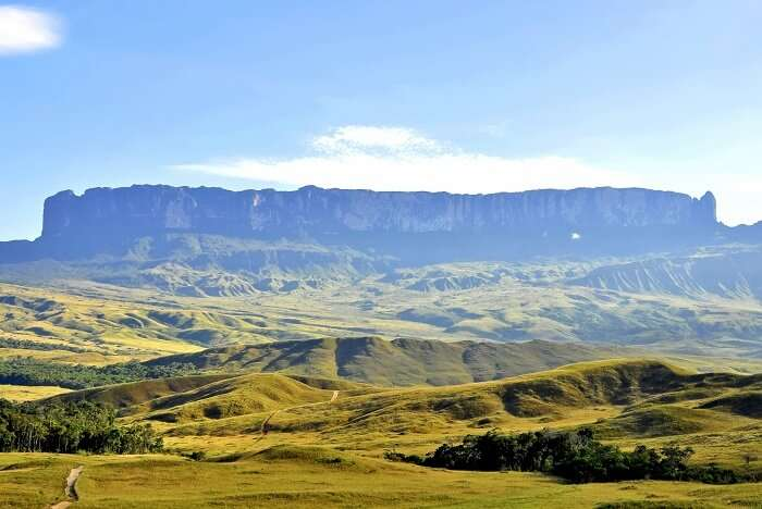 Backpack to the top of Mount Roraima