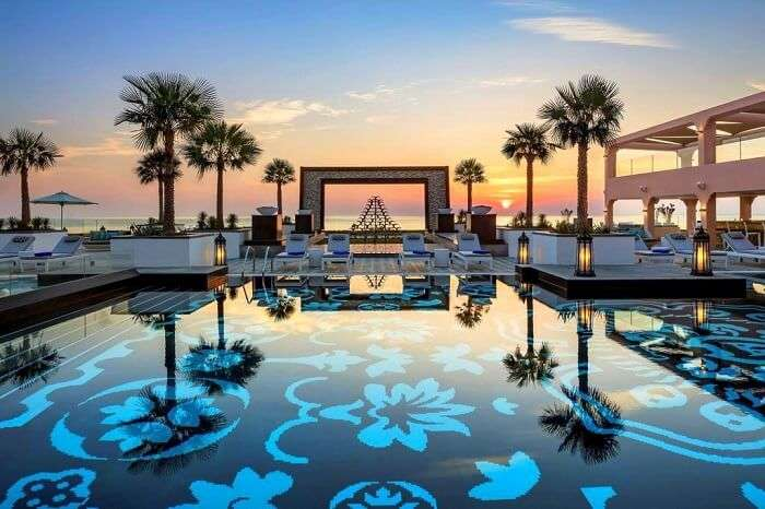 an oasis of luxury in the Arabian desert