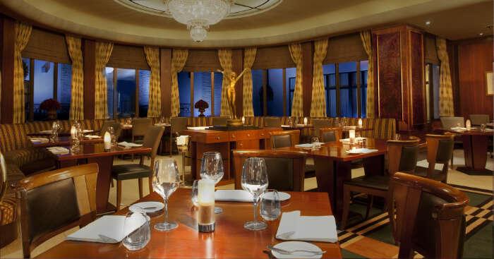 A fine dine restaurant in Prague