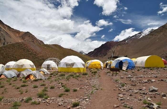 Base Camp Of Manaslu Trek