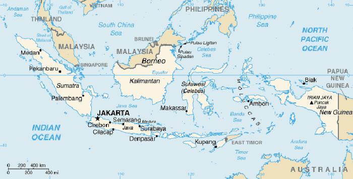 world map sumatra