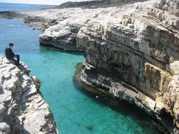 island coast