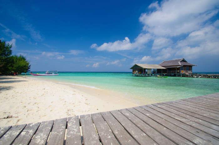 Karimunjawa Island in Java Island of Indonesia