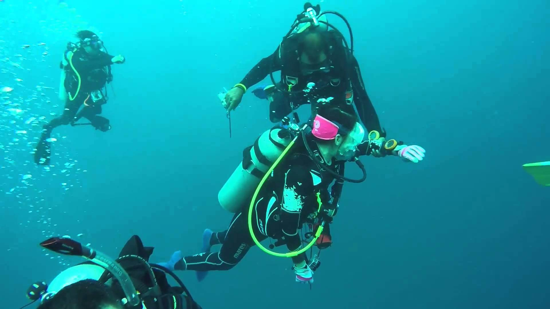 Meant especially for advanced divers
