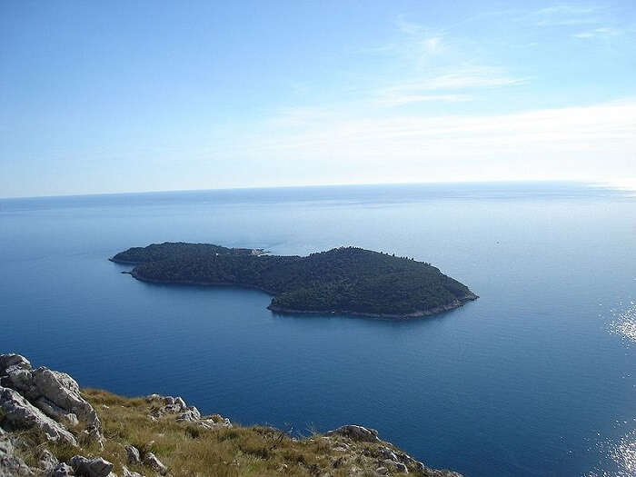 a beautiful rocky shore