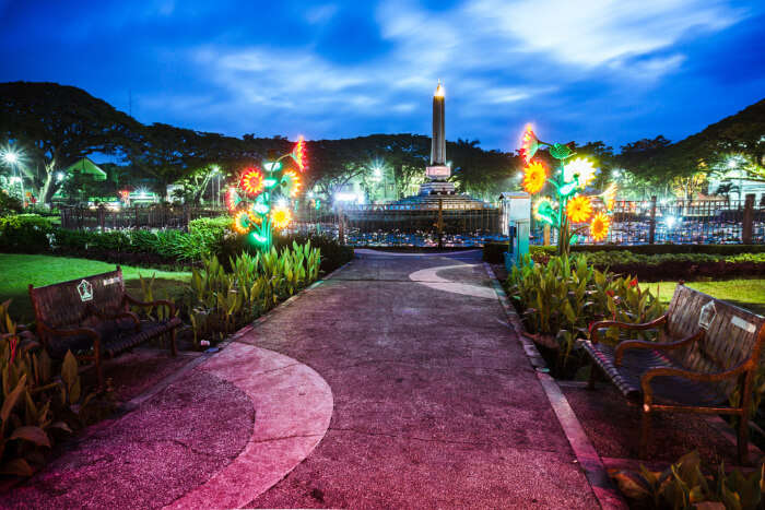 Malang in Java Island of Indonesia