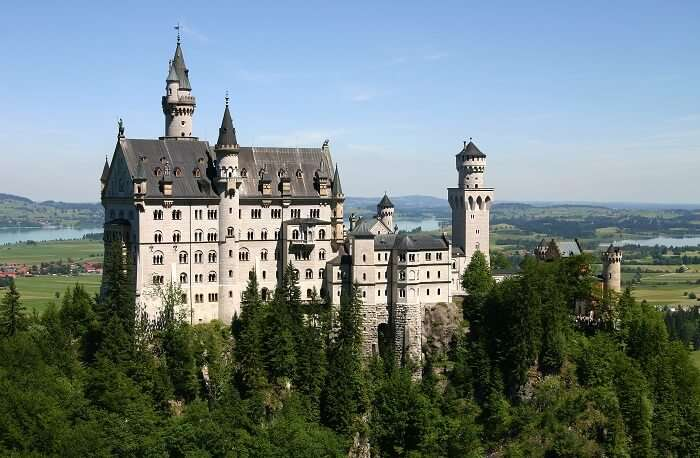 spectacular castle