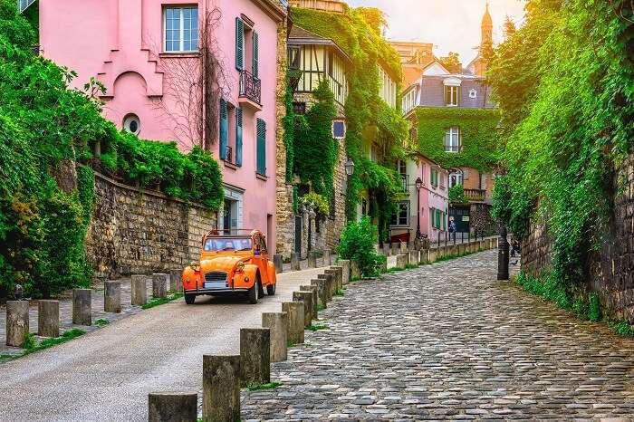 Old Quarters Of Paris