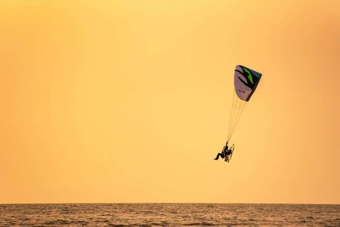unique paragliding site in Thailand