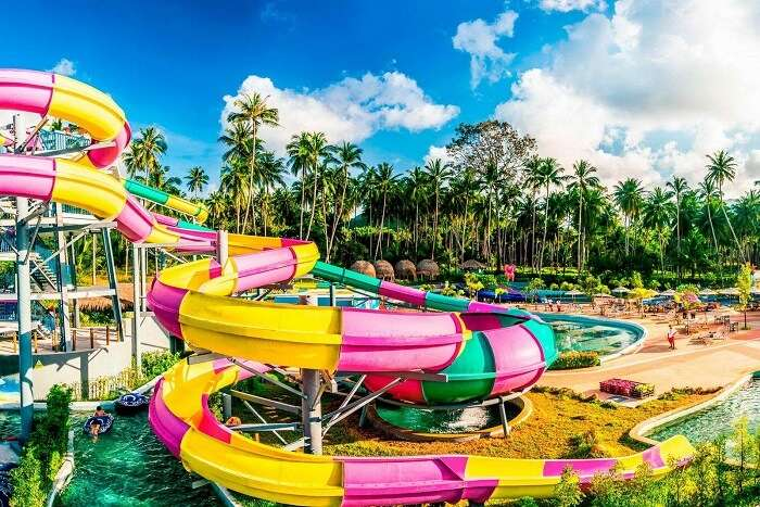 exciting water parks in Thailand