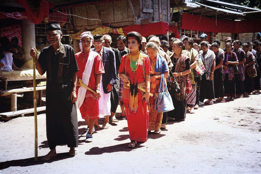 Rambu Solo Ceremony