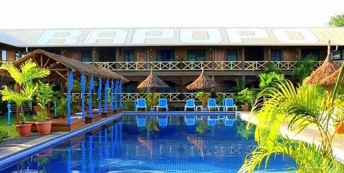 beautiful established resort