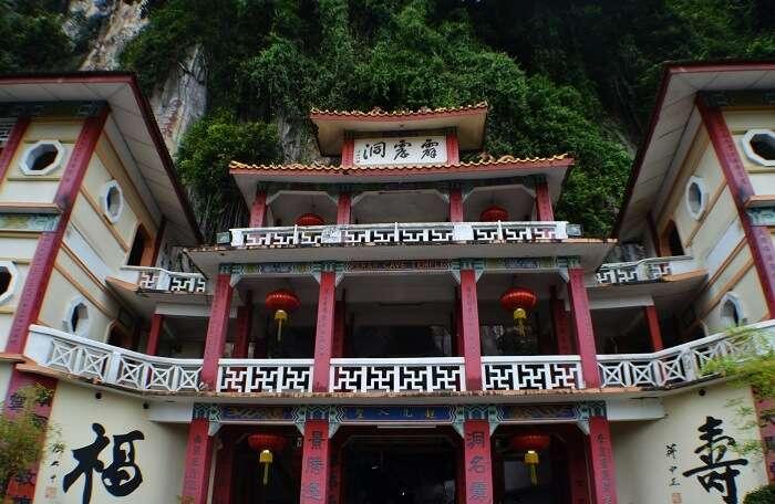buddhist temple cameron highlands