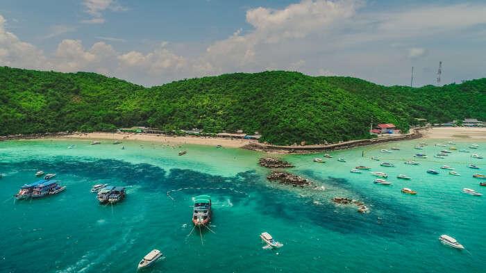 Tong Lang Beach in Koh Larn Thailand