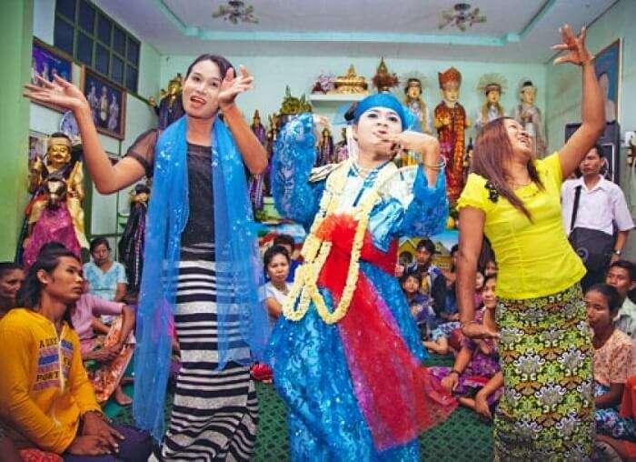 Taungbyone festival