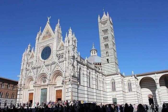 The Duomo of Siena in Siena