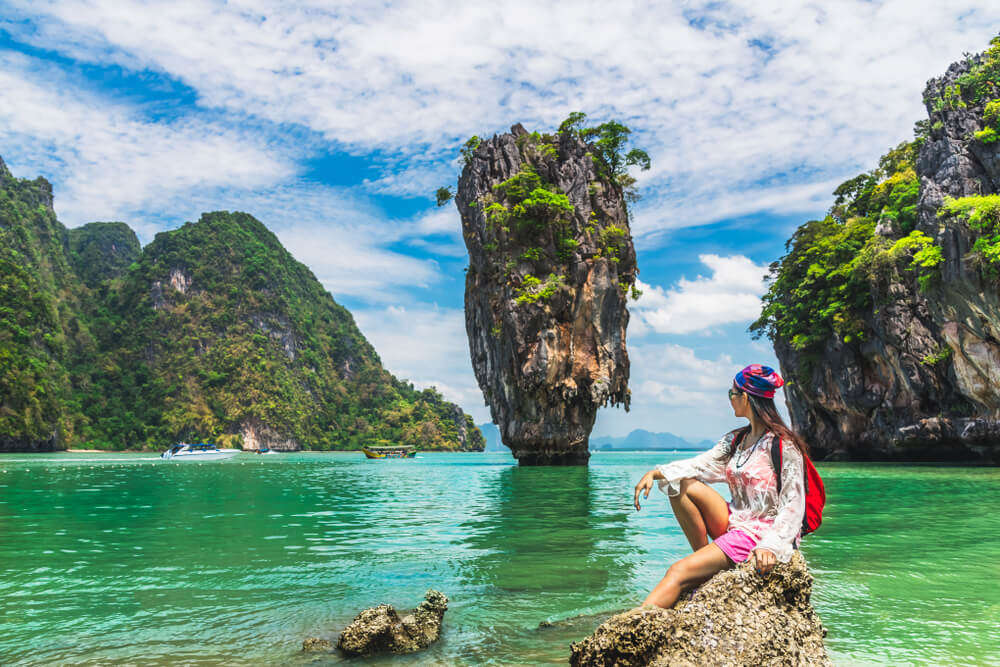 Get Lost Amidst The Wilderness James Bond Island