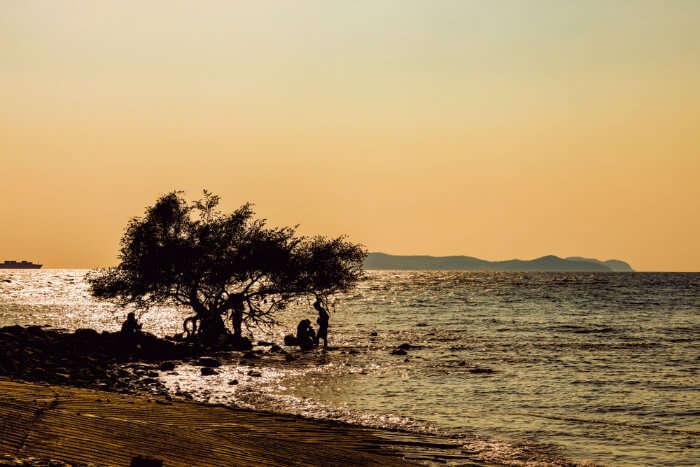 Tien Beach in Koh Larn Thailand