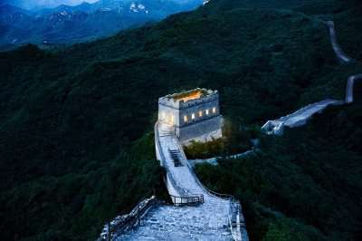 Airbnb stay at the Great Wall of China