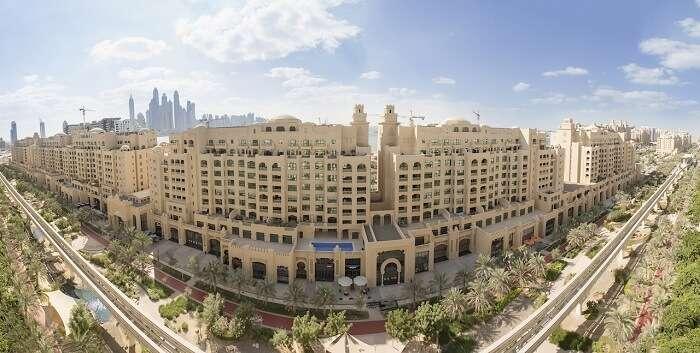 A view of Golden Mile Galleria Dubai