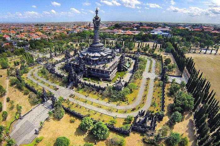famous monument in Bali