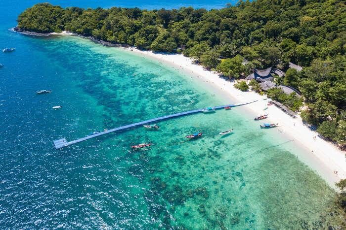 Banana Beach in Koh Hae Thailand