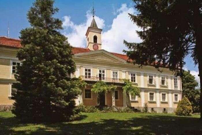 castle resort in croatia