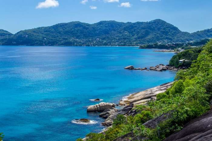the gorgeous Morne Seychellois National Park