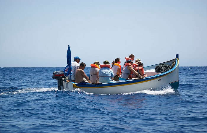 speed boat tour to ile aux cerfs