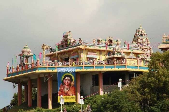 one of the oldest and most colourful temple