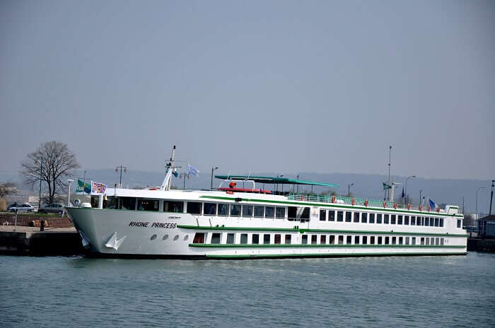 cruise on rhone river