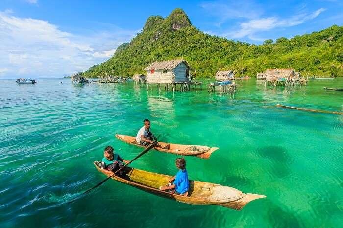 How to reach Borneo Island